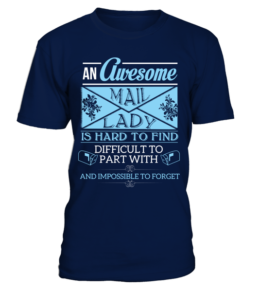 An Awesome Mail Lady Shirt - Giggle Rich - 2