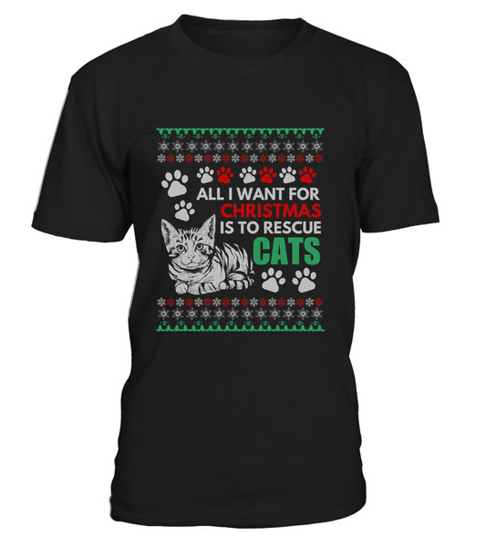 All I Want For Christmas Is To Rescue Cats