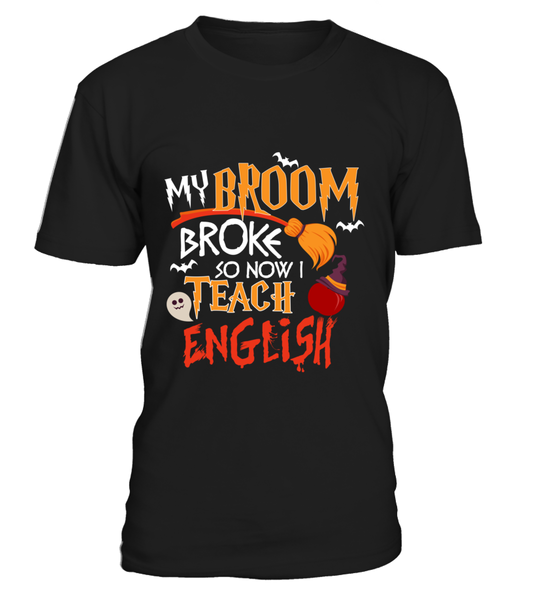 My Broom Broke So Now I Teach English