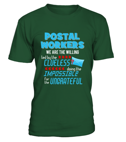 Postal Workers Doing The Impossible Shirt - Giggle Rich - 4