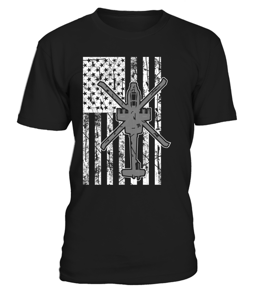 Awesome AH-64 Flag Shirt