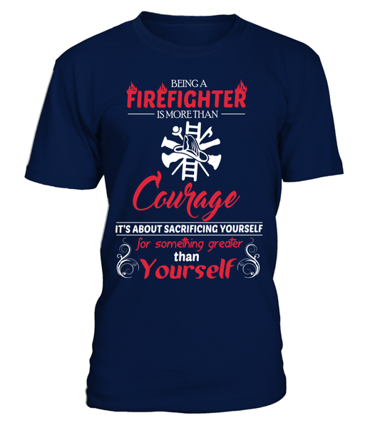 Firefighter Courage Shirt - Giggle Rich - 9