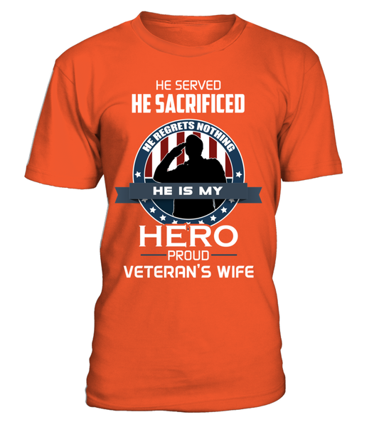 Proud Veterans Wife Shirt - Giggle Rich - 12