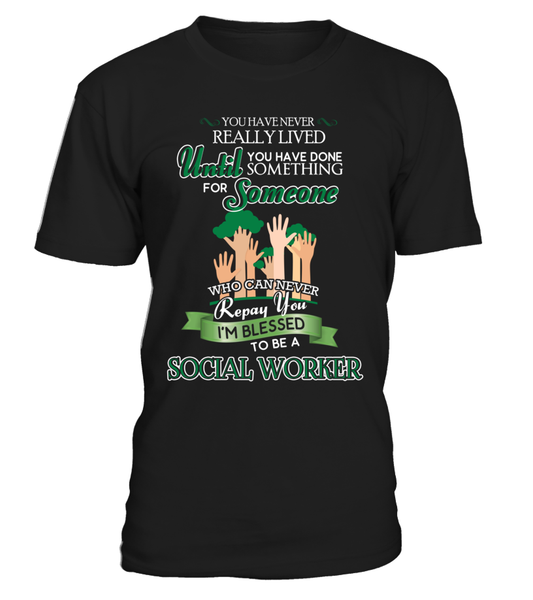 I'm Blessed To Be A Social Worker Shirt - Giggle Rich - 1