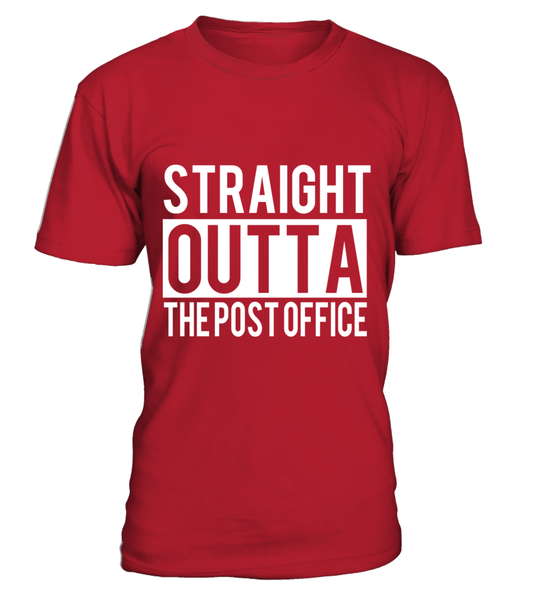 Straight Outta The Post Office Shirt - Giggle Rich - 4