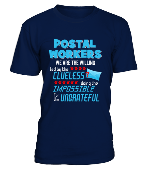 Postal Workers Doing The Impossible Shirt - Giggle Rich - 3