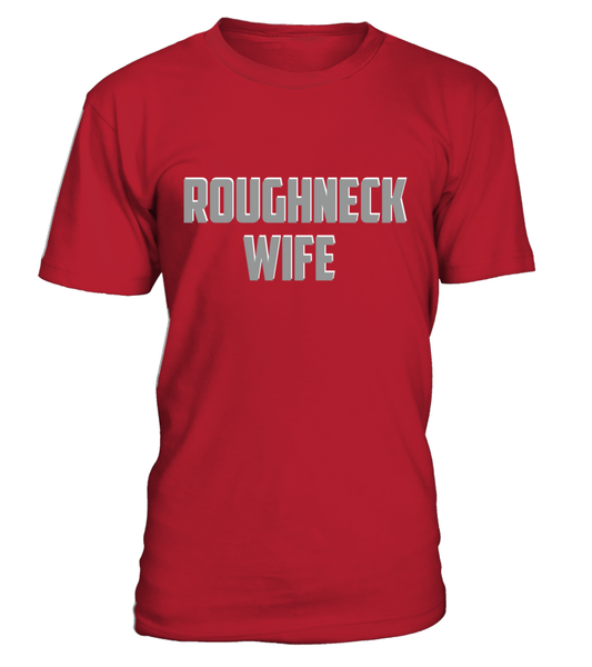 Roughneck Wife Waiting For Her Husband Shirt - Giggle Rich - 29