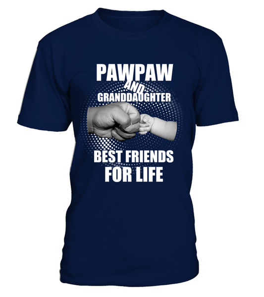 PawPaw & Granddaughter Best Friends For Life Shirt - Giggle Rich - 7