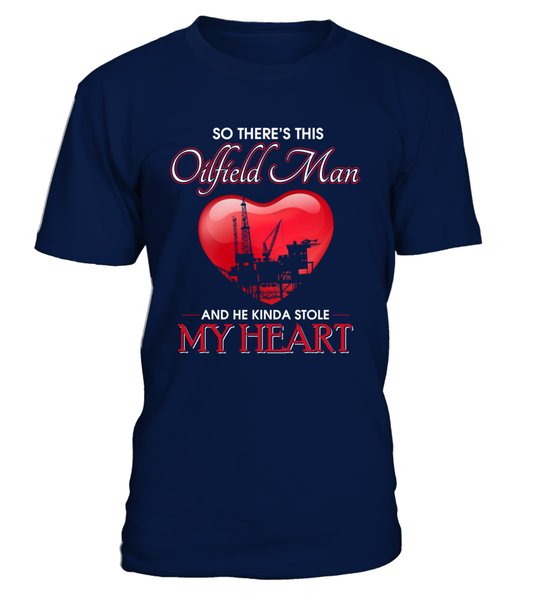Oilfield Man Heart Shirt - Giggle Rich - 12