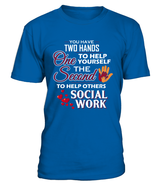 Social Worker Hands Shirt - Giggle Rich - 3
