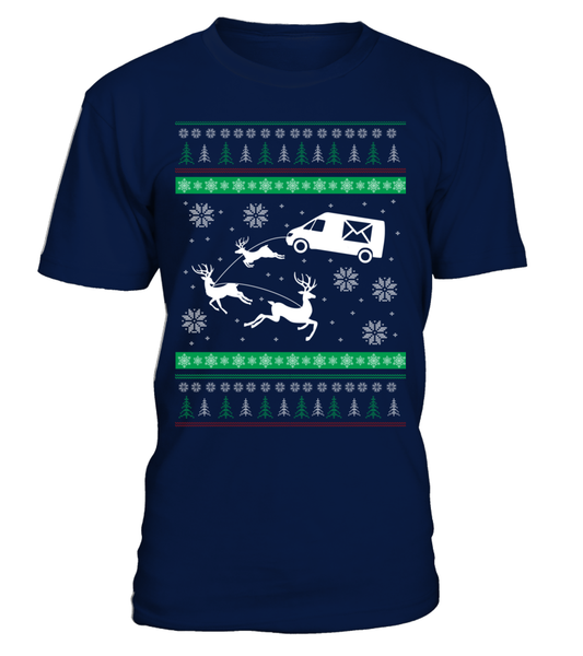 Postal Workers Ugly Christmas Sweater D1 Shirt - Giggle Rich - 8