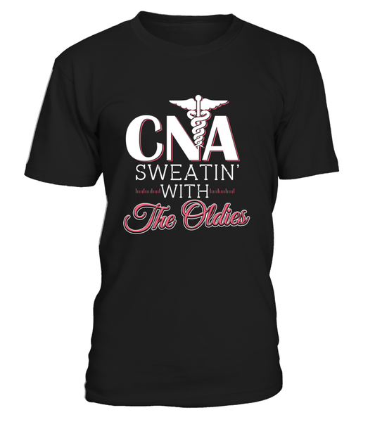 CNA SWEATIN With The Oldies Shirt - Giggle Rich - 1