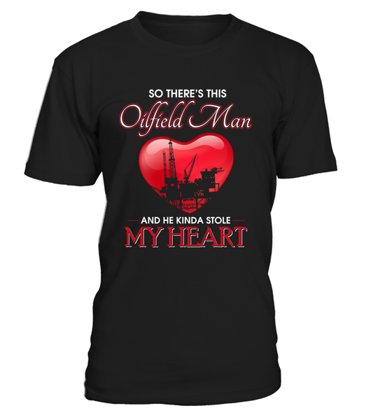Oilfield Man Heart Shirt - Giggle Rich - 13