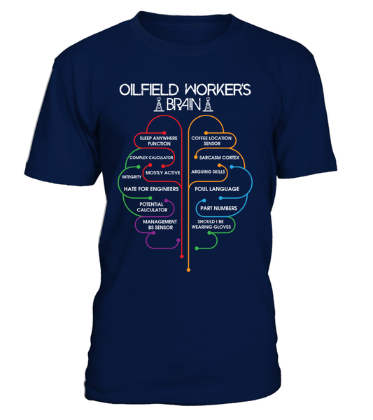 Oilfield Workers Brain Shirt - Giggle Rich - 2