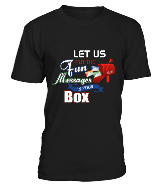 Postal Workers Put Messages In Your Box Shirt - Giggle Rich - 3