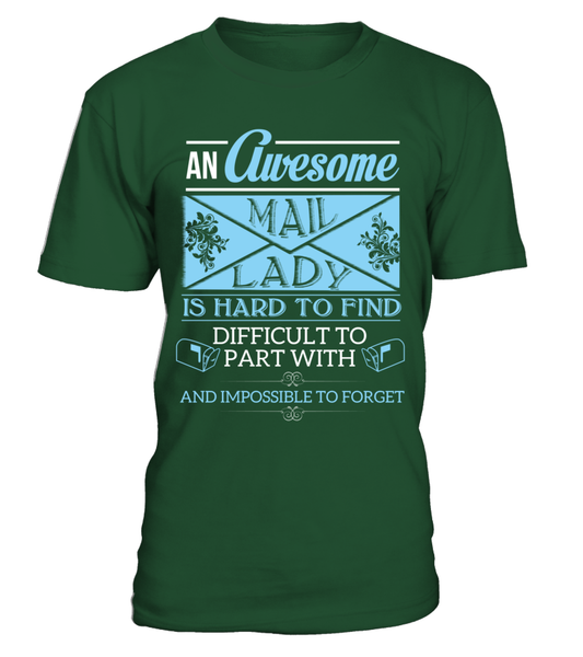 An Awesome Mail Lady Shirt - Giggle Rich - 4