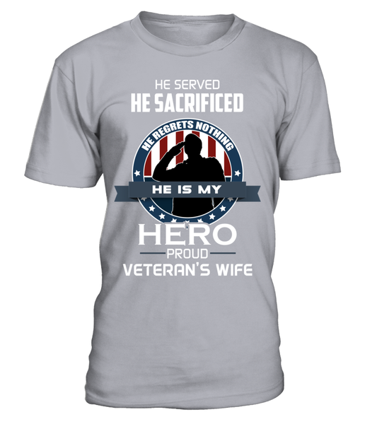 Proud Veterans Wife Shirt - Giggle Rich - 4