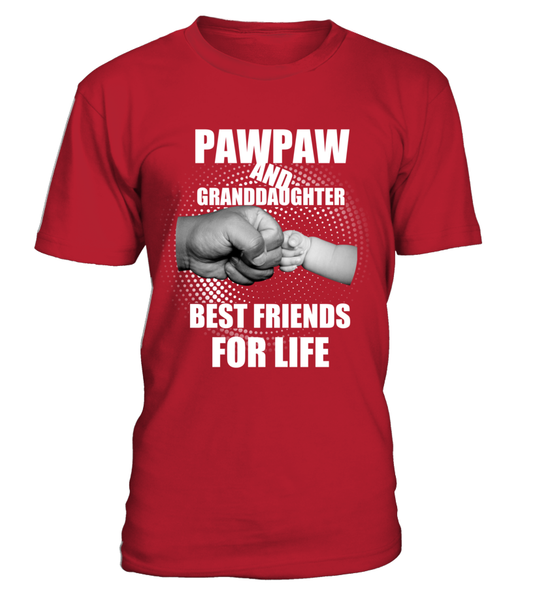 PawPaw & Granddaughter Best Friends For Life Shirt - Giggle Rich - 6