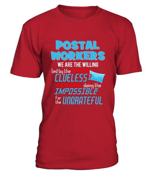 Postal Workers Doing The Impossible Shirt - Giggle Rich - 2
