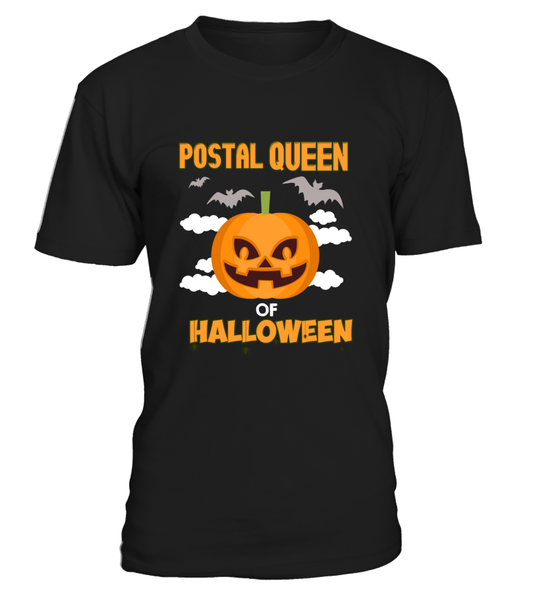 Postal Queen Of Halloween Shirt - Giggle Rich - 5