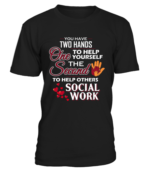Social Worker Hands Shirt - Giggle Rich - 1