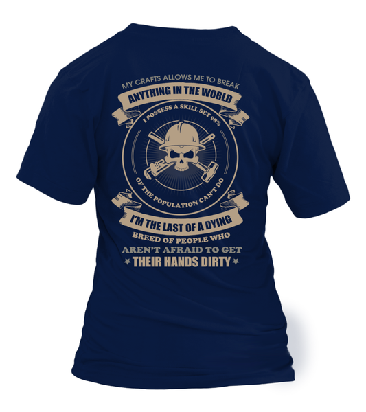 Oilfield Man Last Of Dying Breed Shirt - Giggle Rich - 30
