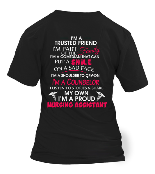 I'M Not Just A Nursing Assistant Shirt - Giggle Rich - 1