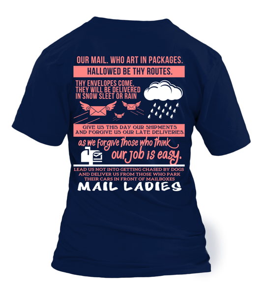 Mail Lady Prayer Shirt - Giggle Rich - 22