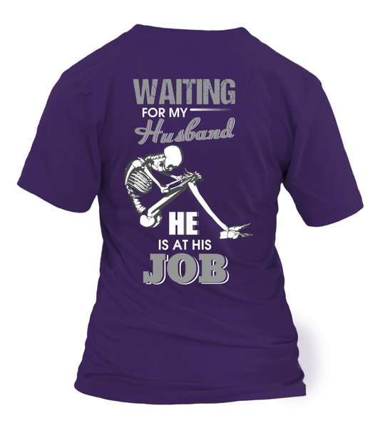 Roughneck Wife Waiting For Her Husband Shirt - Giggle Rich - 10