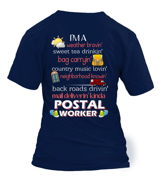 I'm A Postal Worker Shirt - Giggle Rich - 13