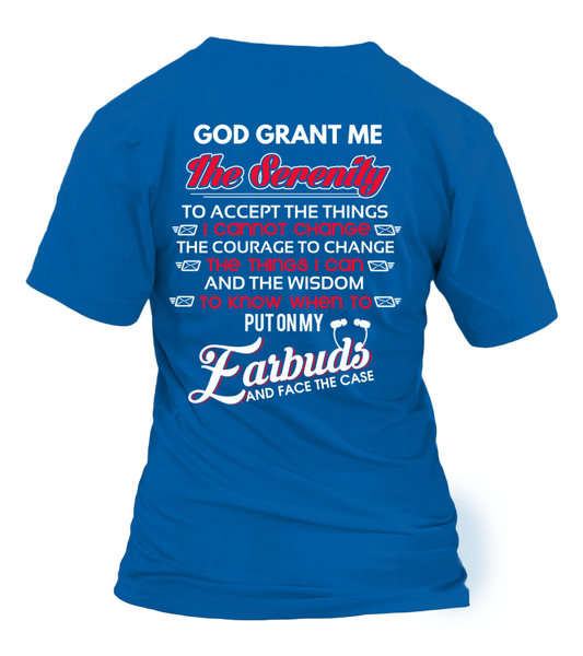 God Grants The Postal Worker With Serenity Shirt - Giggle Rich - 4