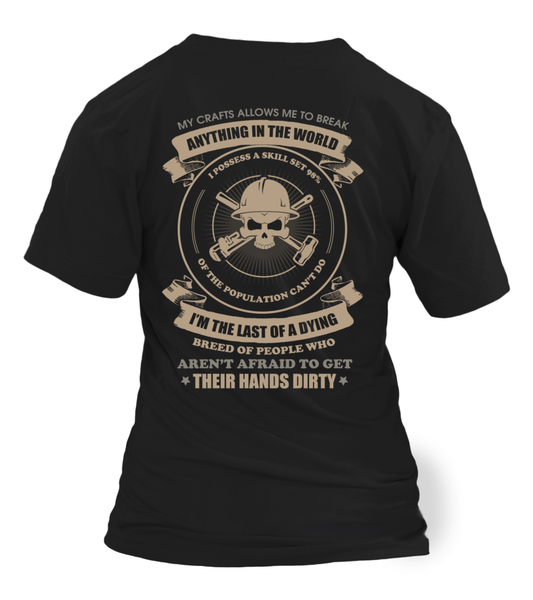 Oilfield Man Last Of Dying Breed Shirt - Giggle Rich - 22