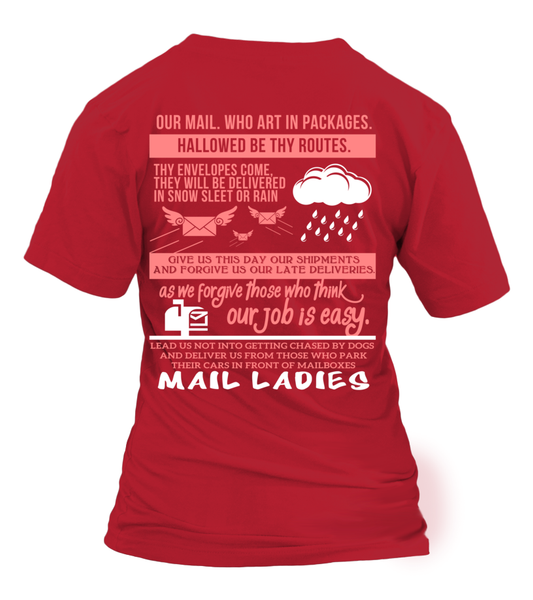 Mail Lady Prayer Shirt - Giggle Rich - 18