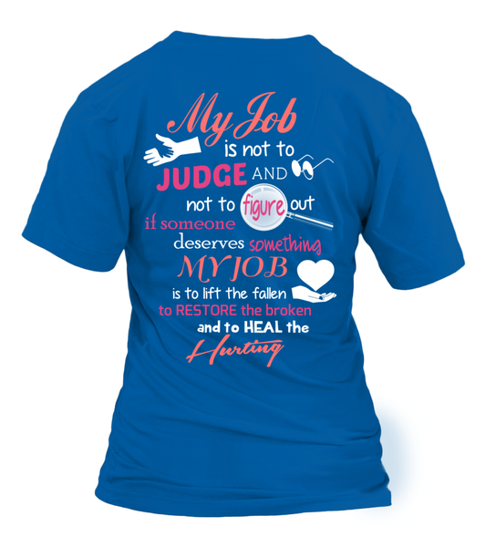 Paraprofessional Job Is Not To Judge Shirt - Giggle Rich - 13