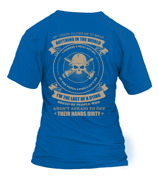 Oilfield Man Last Of Dying Breed Shirt - Giggle Rich - 26