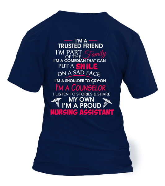 I'M Not Just A Nursing Assistant Shirt - Giggle Rich - 10