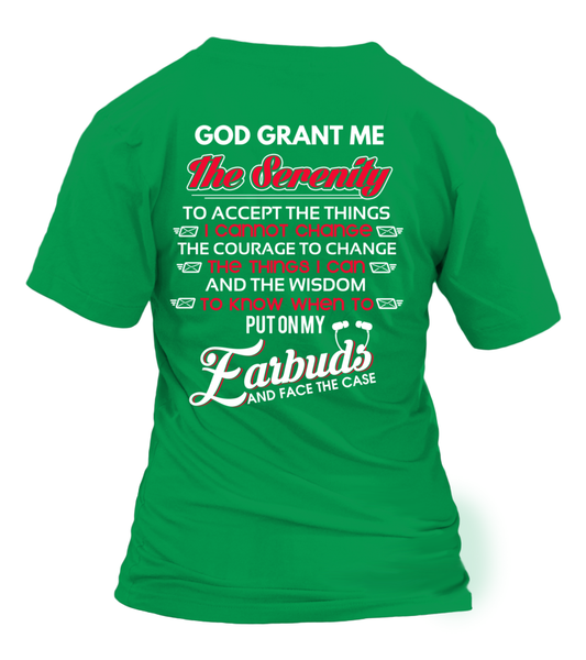 God Grants The Postal Worker With Serenity Shirt - Giggle Rich - 8