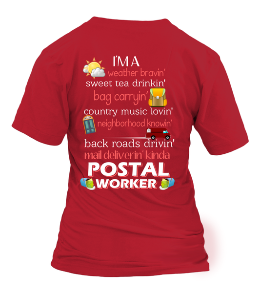 I'm A Postal Worker Shirt - Giggle Rich - 11