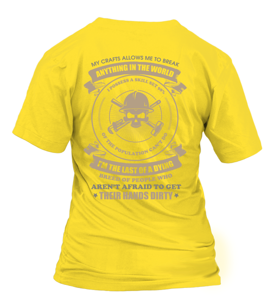 Oilfield Man Last Of Dying Breed Shirt - Giggle Rich - 24