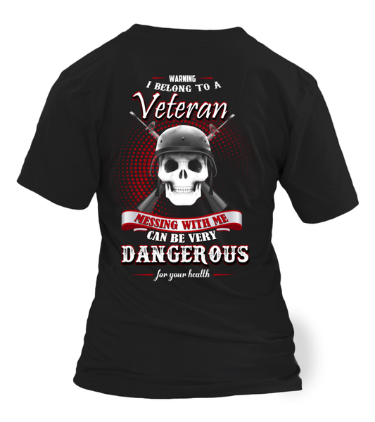 I Belong To A Veteran - Shirt Shirt - Giggle Rich - 11