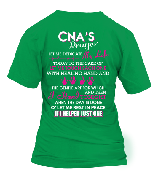 CNA's Prayer Shirt - Giggle Rich - 16