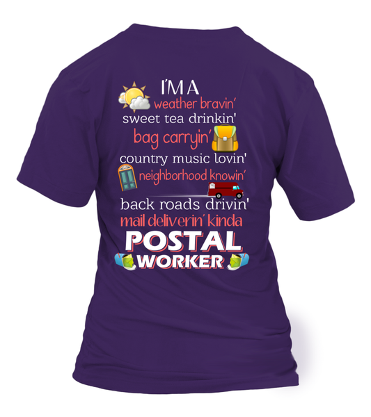 I'm A Postal Worker Shirt - Giggle Rich - 10
