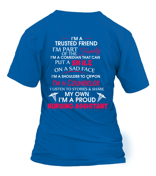 I'M Not Just A Nursing Assistant Shirt - Giggle Rich - 4