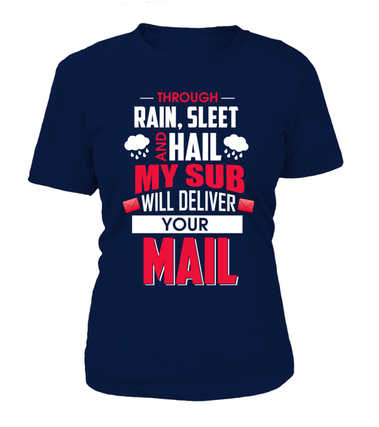 My Sub Will Deliver Your Mail Shirt - Giggle Rich - 9