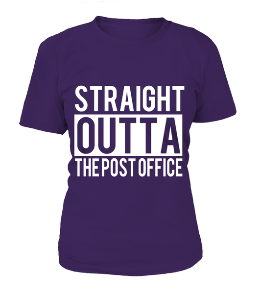 Straight Outta The Post Office Shirt - Giggle Rich - 9