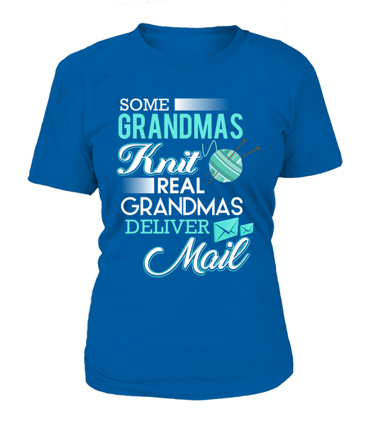 Real Grandmas Deliver Mail Shirt - Giggle Rich - 10