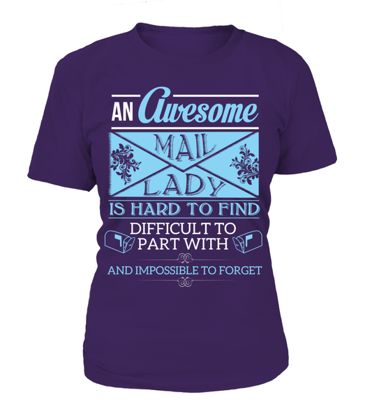 An Awesome Mail Lady Shirt - Giggle Rich - 11