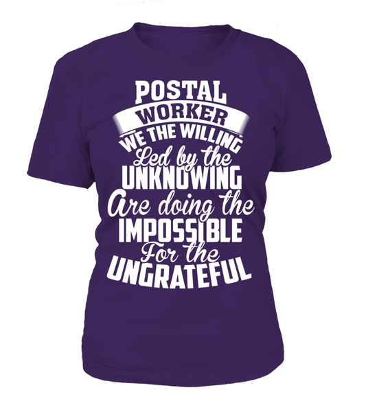 Postal Workers Ungrateful Shirt - Giggle Rich - 9