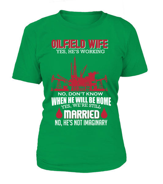 Married Oilfield Wife Shirt - Giggle Rich - 4