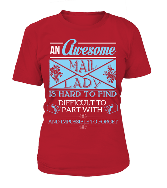 An Awesome Mail Lady Shirt - Giggle Rich - 10